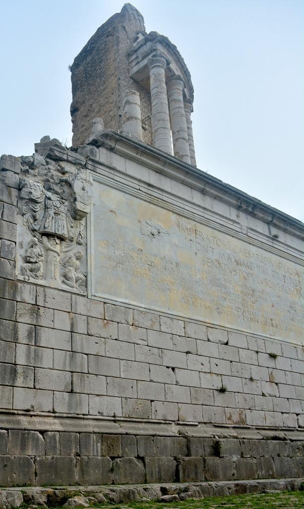 The Trophee de Augustus - A towering structure