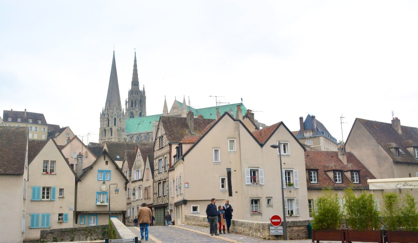Chartres a most pleasant Cathedral town