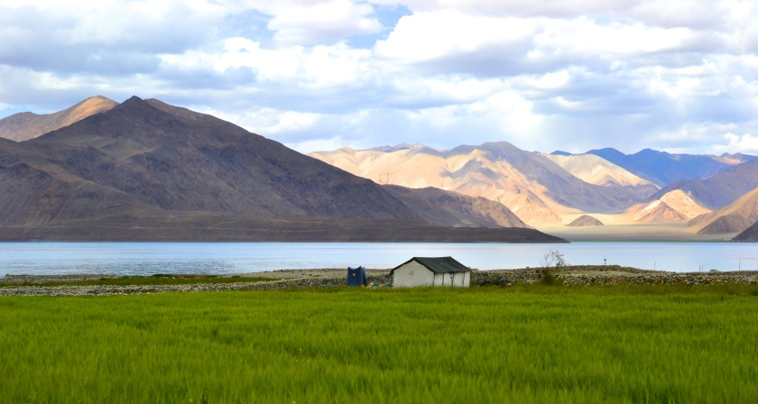 Beauty of the high altitude lakes of Ladakh