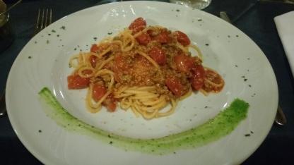 Pasta with Lake Fish